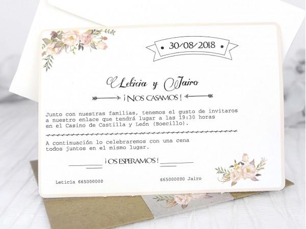 Invitatie nunta cod 39224