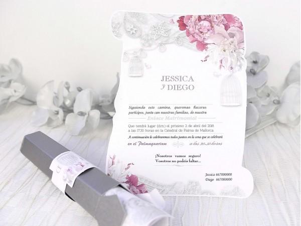 Invitatie nunta cod 39227