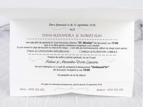 Invitatie nunta cod 39239
