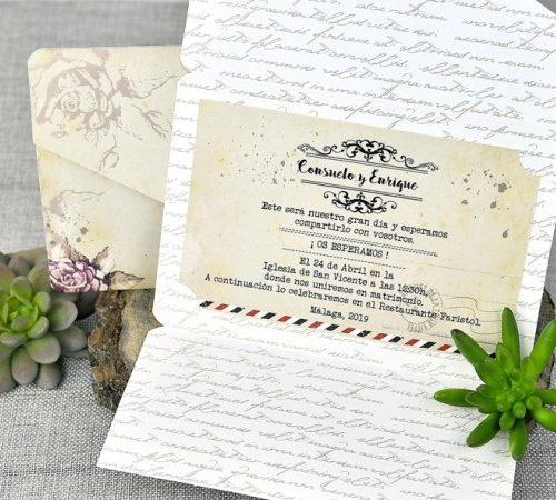 Invitatie nunta cod 39313