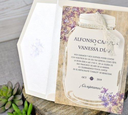 Invitatie nunta cod 39319