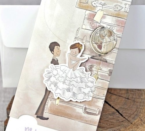 Invitatie nunta cod 39324