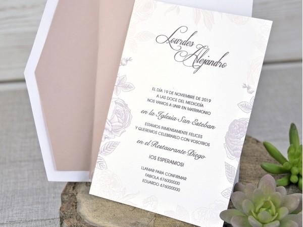 Invitatie nunta cod 39328