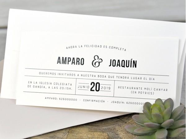 Invitatie nunta cod 39330
