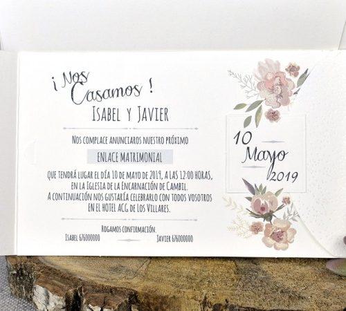 Invitatie nunta cod 39331