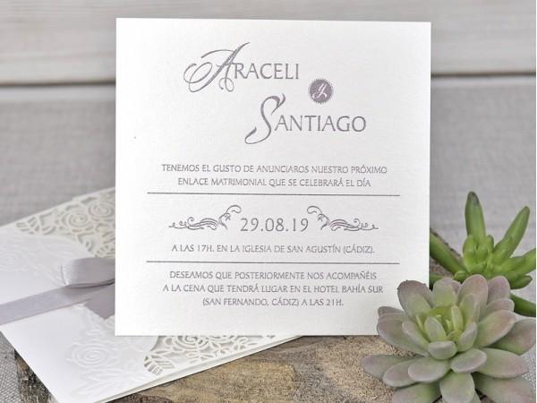 Invitatie nunta cod 39340