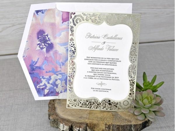 Invitatie nunta cod 39341