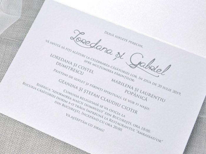 Invitatie nunta cod 39345