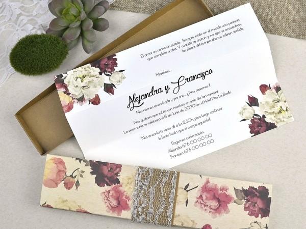 Invitatie nunta cod 39601
