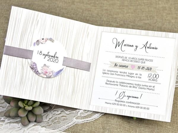 Invitatie nunta cod 39613