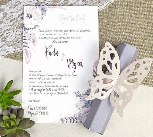 Invitatie nunta cod 39619