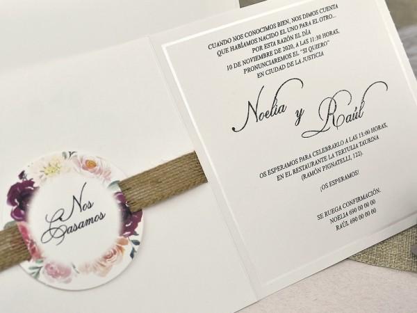 Invitatie nunta cod 39622