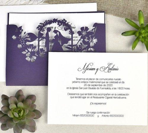 Invitatie nunta cod 39625
