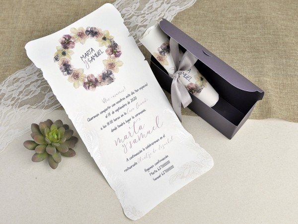 Invitatie nunta cod 39627