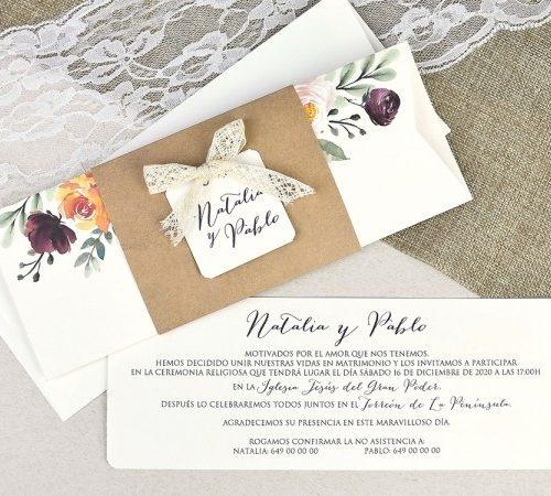Invitatie nunta cod 39637