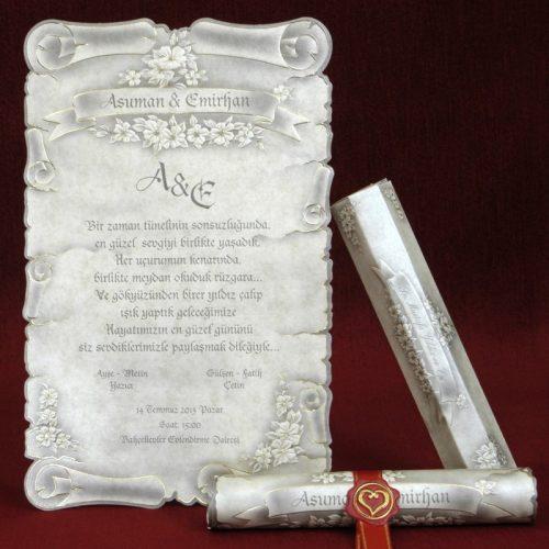 Invitatie nunta cod 5301