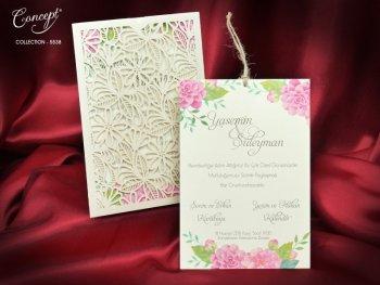 Invitatie nunta cod 5538
