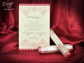Invitatie nunta cod 5542