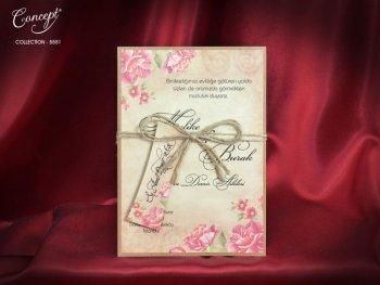 Invitatie nunta cod 5551