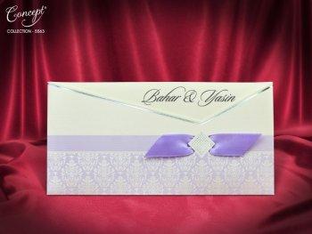 Invitatie nunta cod 5563
