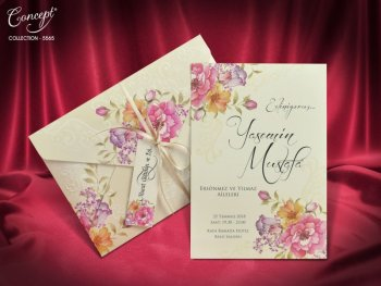 Invitatie nunta cod 5565