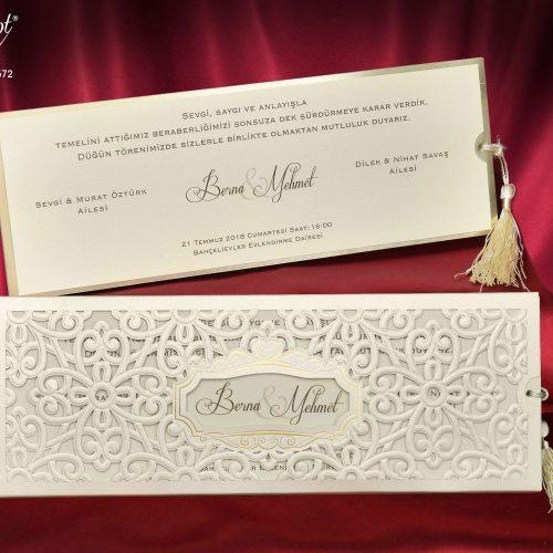 Invitatie nunta cod 5572