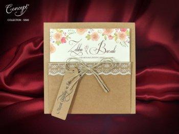 Invitatie nunta cod 5580