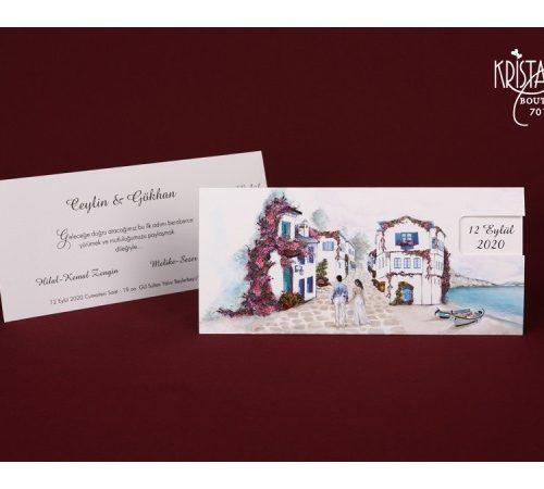 Invitatie nunta cod 70109