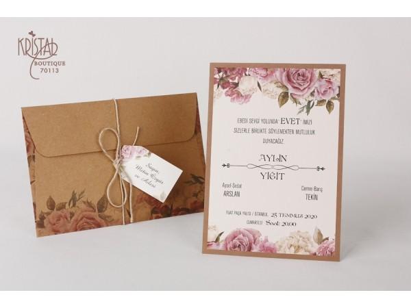 Invitatie nunta cod 70113
