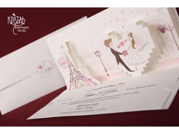 Invitatie nunta cod 70132