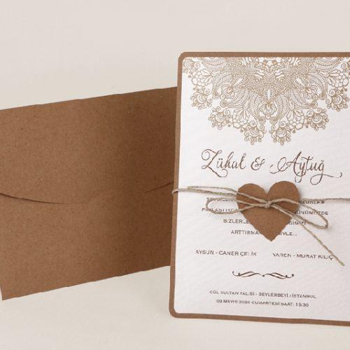 Invitatie nunta cod 70151