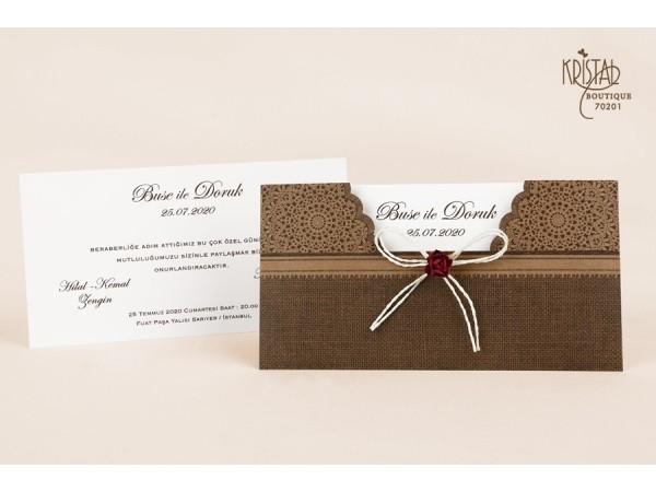 Invitatie nunta cod 70201