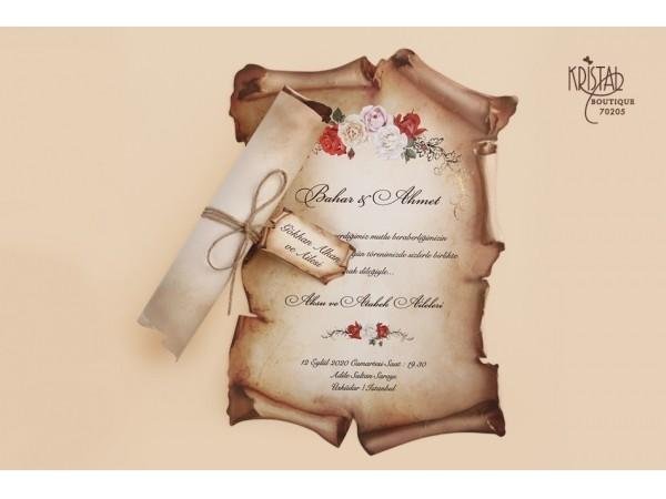 Invitatie nunta cod 70205