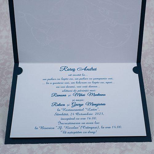 Invitatie botez cod 8012