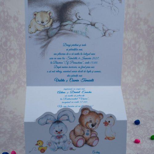 Invitatie botez cod 8024