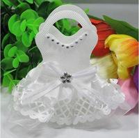 Cutie marturie rochie de mireasa