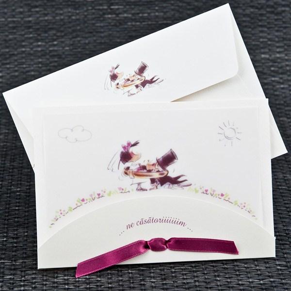 Invitatie nunta cod 1039
