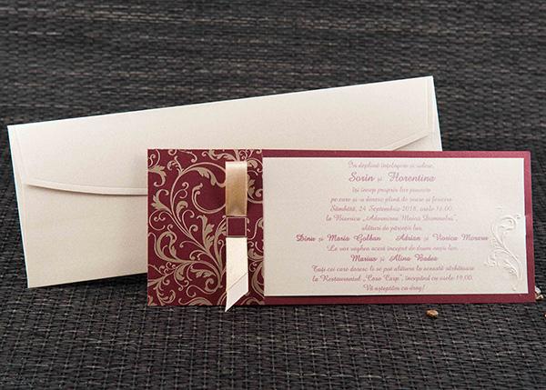 Invitatie nunta cod 1104