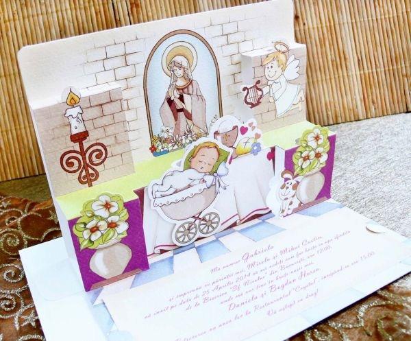 Invitatie botez cod 15315
