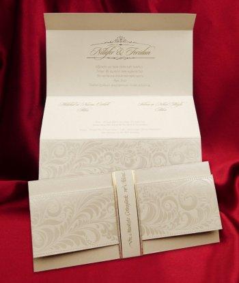 Invitatie nunta cod 2619