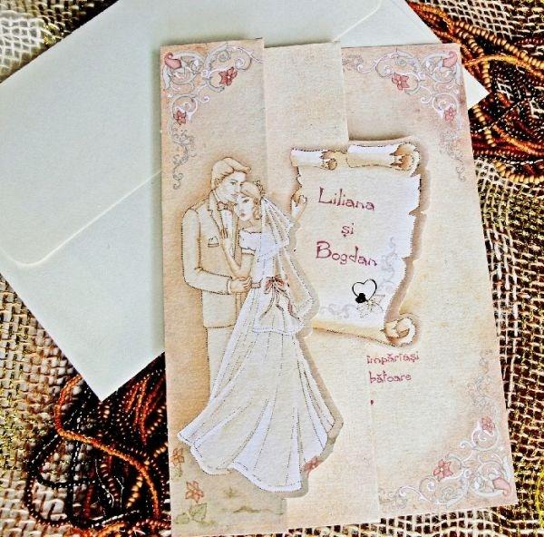 Invitatie nunta cod 31314