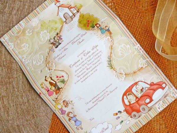 Invitatie nunta cod 32410