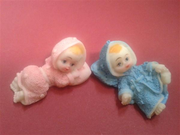Marturie ceramica bebe pe pernuta