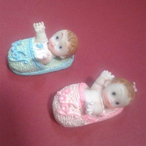 Marturie ceramica bebelus in papuc