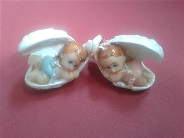 Marturie ceramica bebelus in scoica
