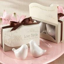 Marturie nunta recipient sare si piper Birds