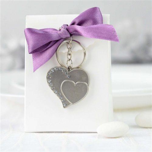 Marturie nunta set cutie + breloc