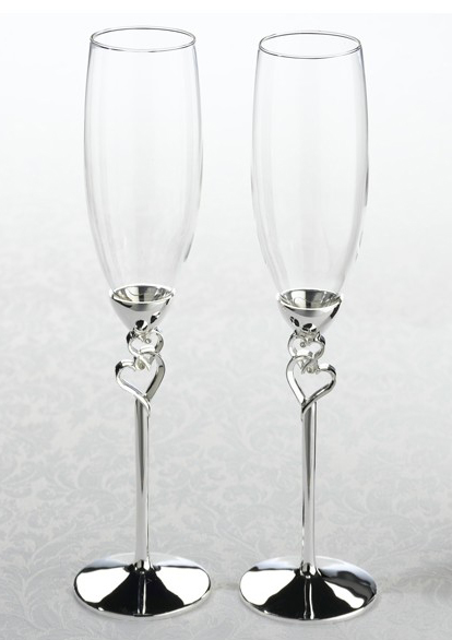 Set pahare miri argintate - model 1