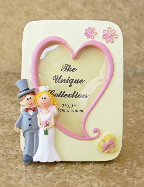 Marturie nunta rama foto inima