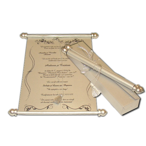 Invitatie nunta cod SSC016